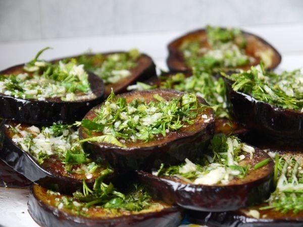 Маринованные баклажаны. Рецепты с чесноком и зеленью на зиму, как грибы, быстрого приготовления