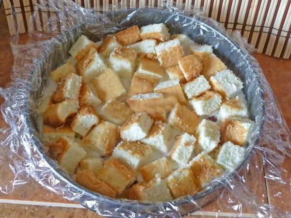 Графские развалины торт. Рецепт классический со сметаной, безе, сгущенкой, бисквитный