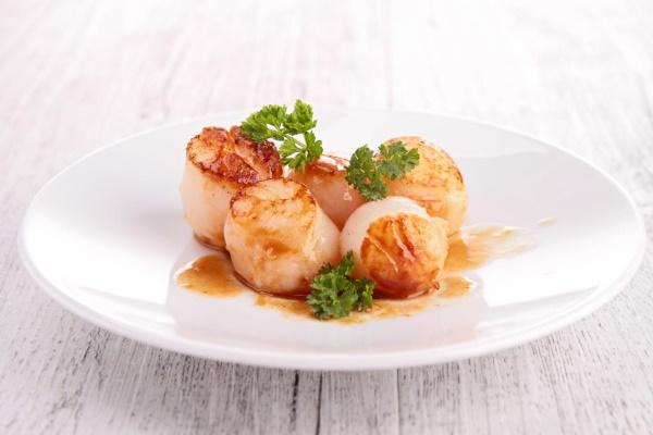 Гребешки рецепт приготовления морские жареные, куриные, салат от Джейми Оливера, Гордона Рамзи