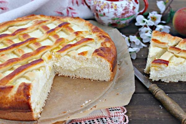 Пирог с творогом в духовке. Рецепт песочный, тертый, насыпной, яблочный, открытый, слоеный