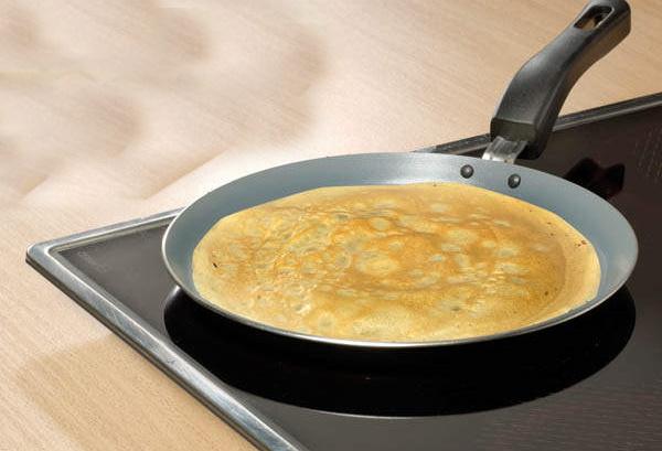 Яичные блины для салата. Рецепт с крахмалом, мукой, молоком, майонезом, соевым соусом, курицей, печенью