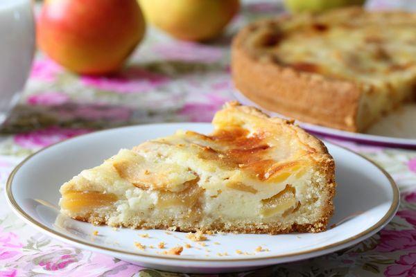 Пирог заливной с яблоками. Рецепты быстро на кефире, сметане, молоке, майонезе в духовке, мультиварке, на сковороде
