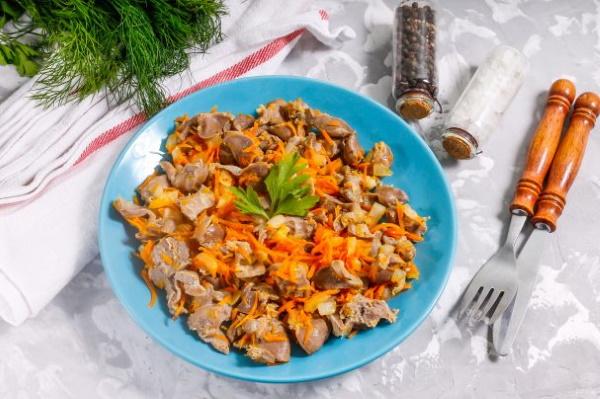 Куриные потроха. Рецепты приготовления в соусе, по-грузински, китайски, венгерски в мультиварке, духовке, на мангале