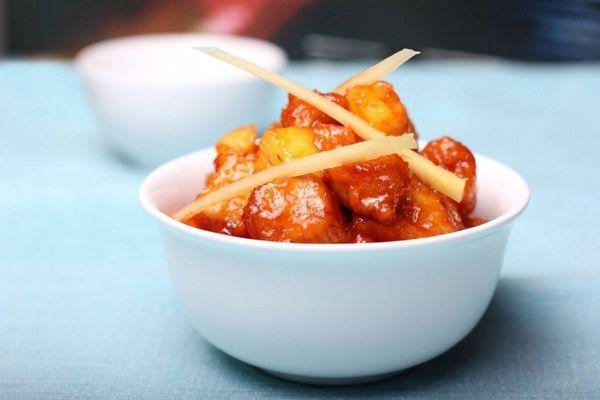 Баклажаны в кисло-сладком соусе по-китайски. Рецепт с картошкой, свининой, овощами, мясом
