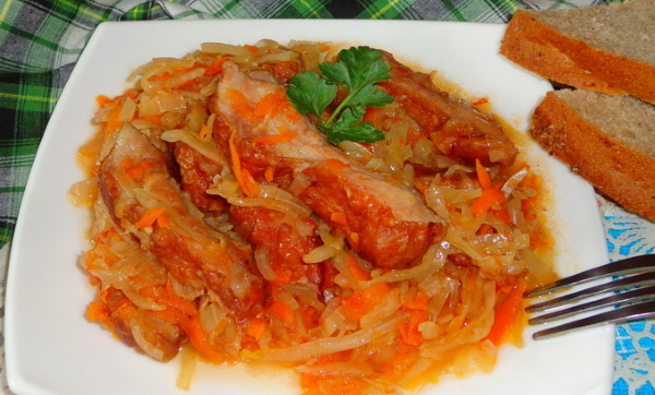 Блюда из копченых ребрышек свинины, говядины. Рецепты в мультиварке, духовке