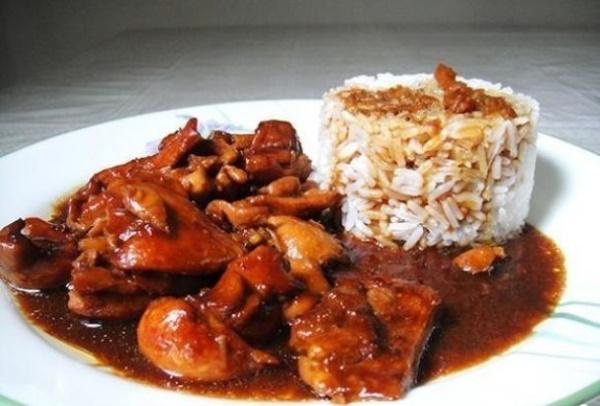 Курица в соусе Терияки. Рецепт на сковороде, в духовке, мультиварке с овощами, кунжутом, рисом, лапшой, фунчозой