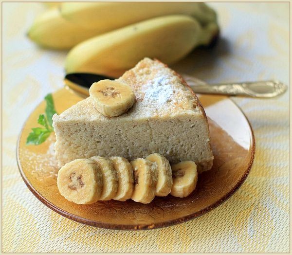 Запеканка творожная с бананом в духовке, мультиварке, микроволновке. Рецепт с яблоком, грушей, овсянкой, киви, шоколадом