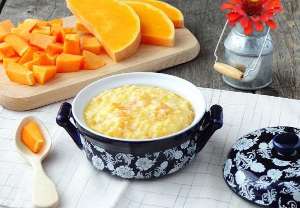 Каша из тыквы. Как сварить с пшеном, рисом, манкой, на молоке, воде, в мультиварке, духовке
