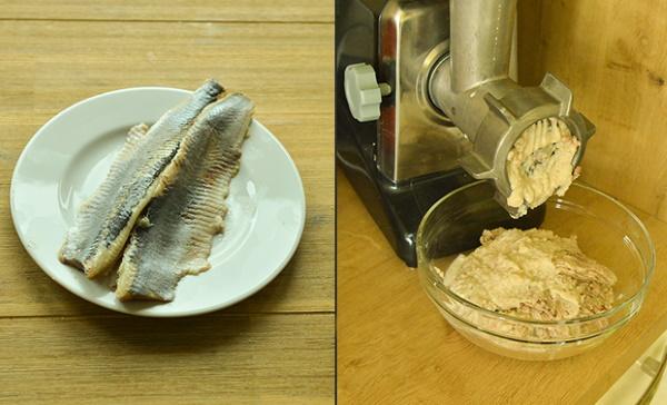 Котлеты из селедки свежемороженой рыбные. Рецепты в духовке, на пару с манкой, салом, творогом