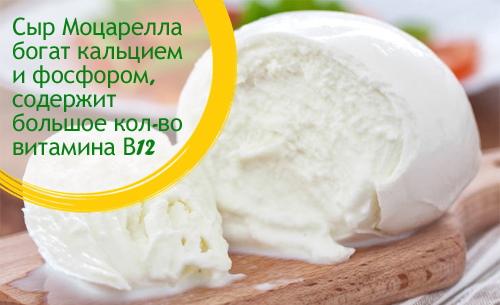 Сыр Моцарелла. Фото, калорийность, виды, состав бжу, рецепты в домашних условиях