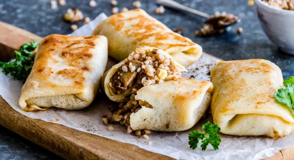 Начинки из фарша для блинов, пирога, пирожков, лаваша с рисом, картошкой, яйцом, грибами