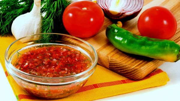 Соус сальса. Рецепт классический, с чем едят, острый или нет, состав, как приготовить