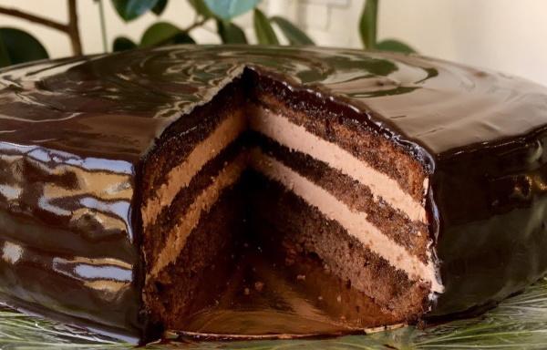 Торт Эскимо. Рецепт с фото пошагово без выпечки с заварным, пломбирным кремом, бананом, ананасами