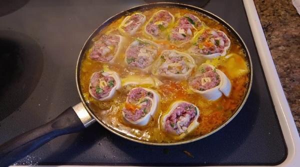 Необычные блюда из фарша мясного, рыбного. Рецепты в духовке, на сковороде. Фото