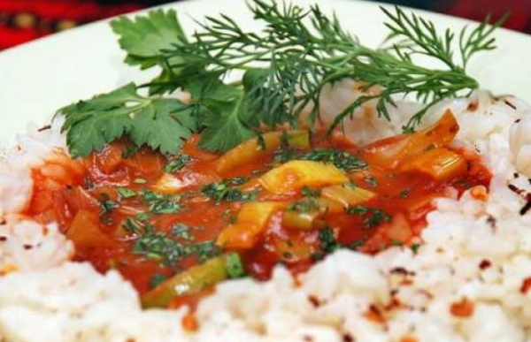 Подлива без мяса к любому гарниру: макаронам, гречке, пюре, рису. Рецепт с фото
