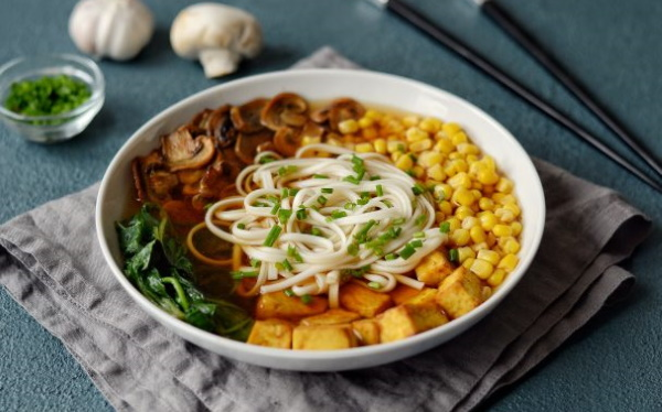 Японское блюдо Рамэн (Ramen). Рецепт классический с фото