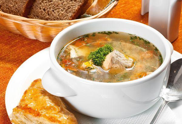 Рыбный суп из консервов скумбрии в томатном соусе, масле. Рецепты с фото