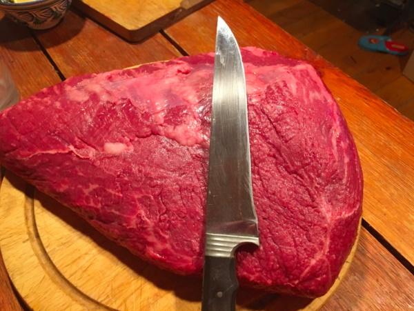 Стейк Пиканья. Как готовить на сковороде, что это такое, степени прожарки, Мираторг, мраморная говядина
