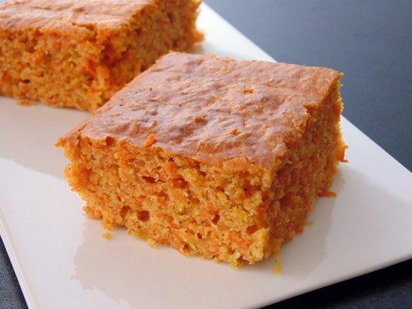 Морковный кекс. Простой рецепт в мультиварке, микроволновке с орехами, апельсином, глазурью