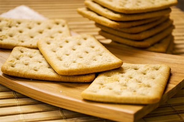 Галетное печенье. Рецепт с семенами льна, семечками, кунжутом в домашних условиях