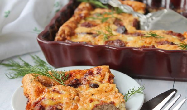 Запеканка из печени куриной. Рецепт в духовке, мультиварке с манкой, рисом, картошкой, морковью, луком