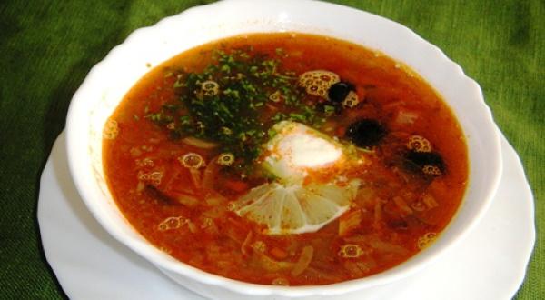 Похлебка по-суворовски. Рецепт с пшеном, семгой, грибами, шампиньонами