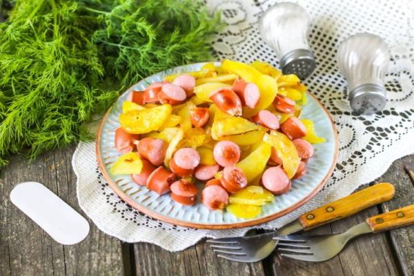 Как вкусно пожарить картошку на сковороде, с чем на ужин