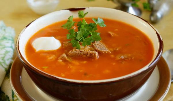 Супы с рисом, картофелем, мясом. Как приготовить с томатной пастой, капустой, яйцом, помидорами