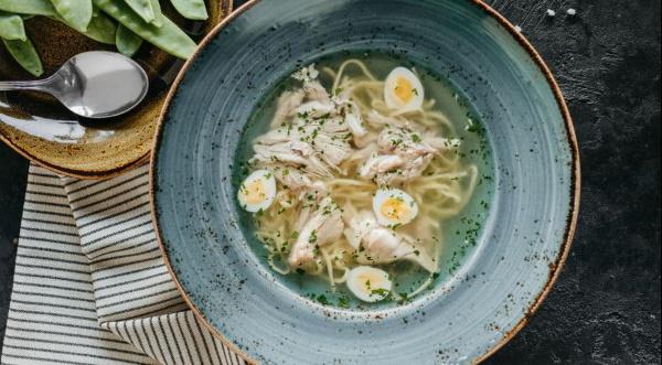 Домашняя лапша для куриного супа. Рецепт с фото пошагово