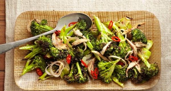 Как готовить свежую брокколи на сковороде. Рецепт с яйцом, сливками, грибами, мясом