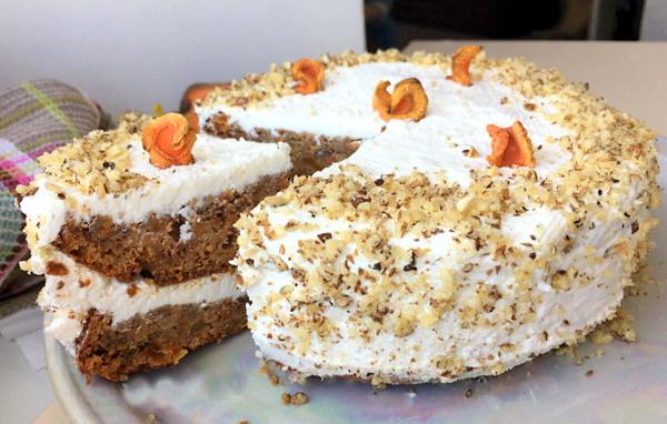 Морковные торты ПП. Рецепты в микроволновке, мультиварке с творожным, сырным, сметанным кремом, рисовой мукой