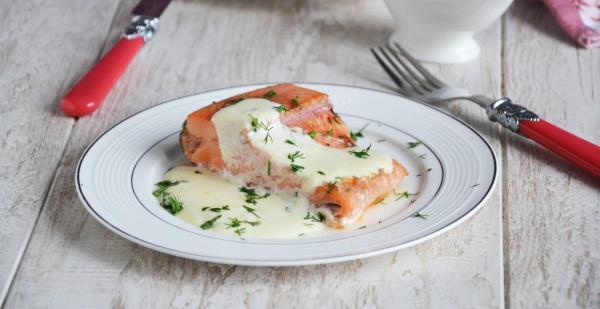 Сливочный соус для рыбы. Рецепт из сливок, сливочного масла, икры, грибов