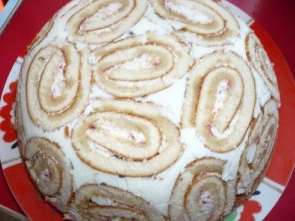 Торт Черепашка (Черепаха) со сметанным кремом. Рецепт со сгущенкой, киви, курагой