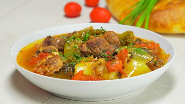 Армянские блюда из мяса. Рецепты с фото