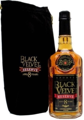 Виски Black Velvet (Блэк Вельвет). Цена, отзывы