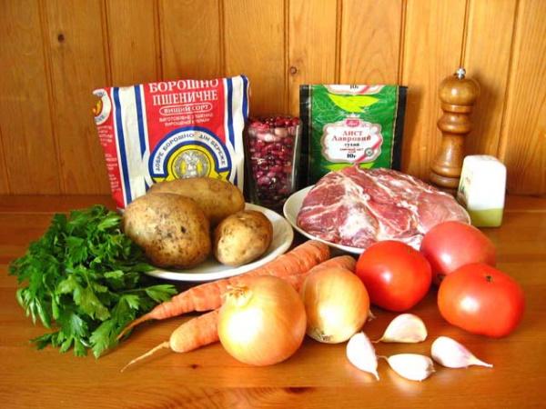 Чинахи в горшочках. Рецепты с фасолью ПП, свининой