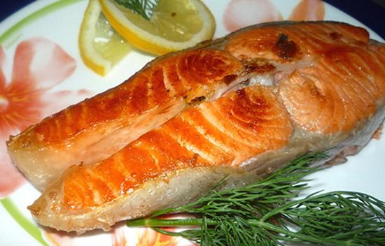 Кижуч рыба. Рецепт с фото в духовке, на сковороде