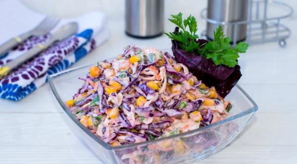 Коул Слоу салат. Рецепт классический американский с фото