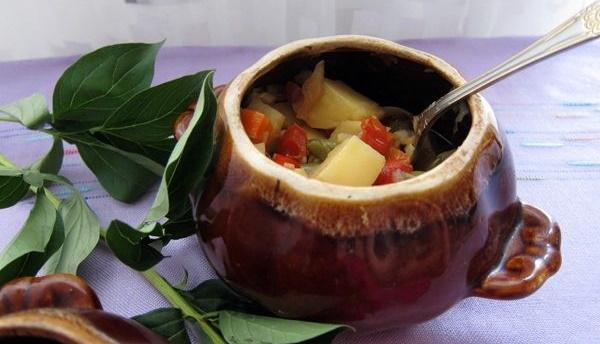 Овощное рагу. Классический рецепт с фото