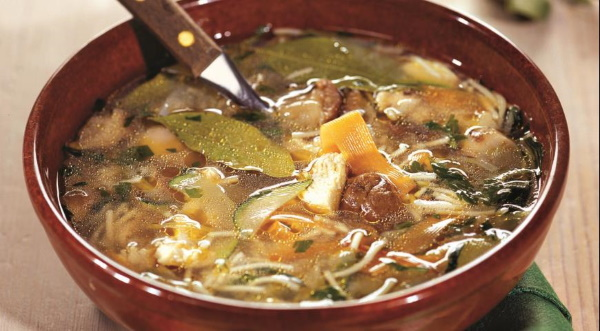 Суп из опят замороженных, свежих. Рецепт с фото